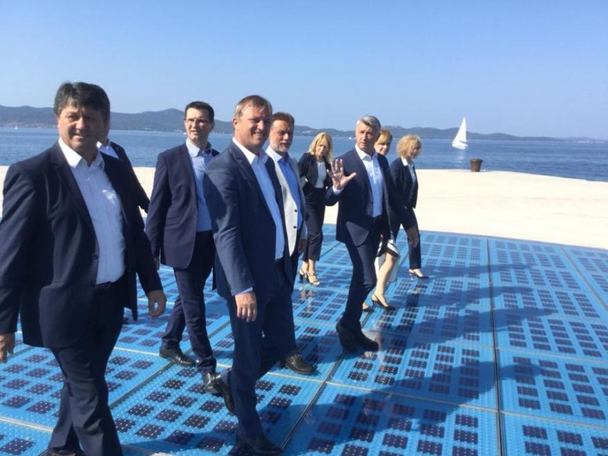 Predsjednik Hrvatskog sabora Gordan Jandroković boravio je danas u radnom posjetu Zadarskoj županiji