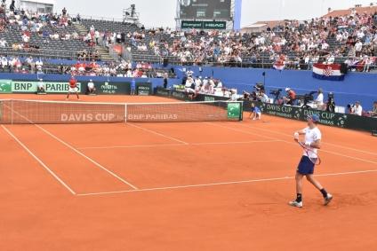 Sjajan teniski vikend u Zadru: Hrvatska u finalu Davisova kupa