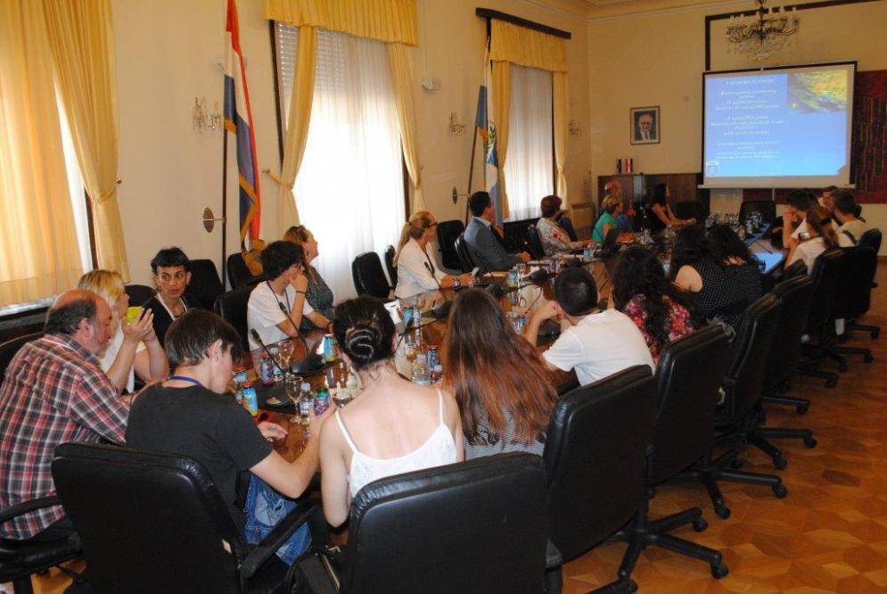 """Sudionici u projektu Erasmus+ K2 pod nazivom """"Young Europe – Debates"""" posjetili Zadarsku županiju"""