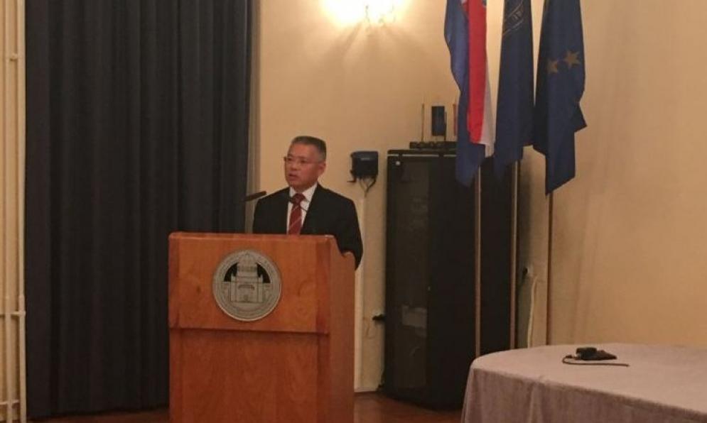 """NJ.E. Hu Zhaoming: """"S kineske strane smatramo da je Hrvatska ključna zemlja u jugoistočnoj Europi i prijateljica unutar EU."""""""