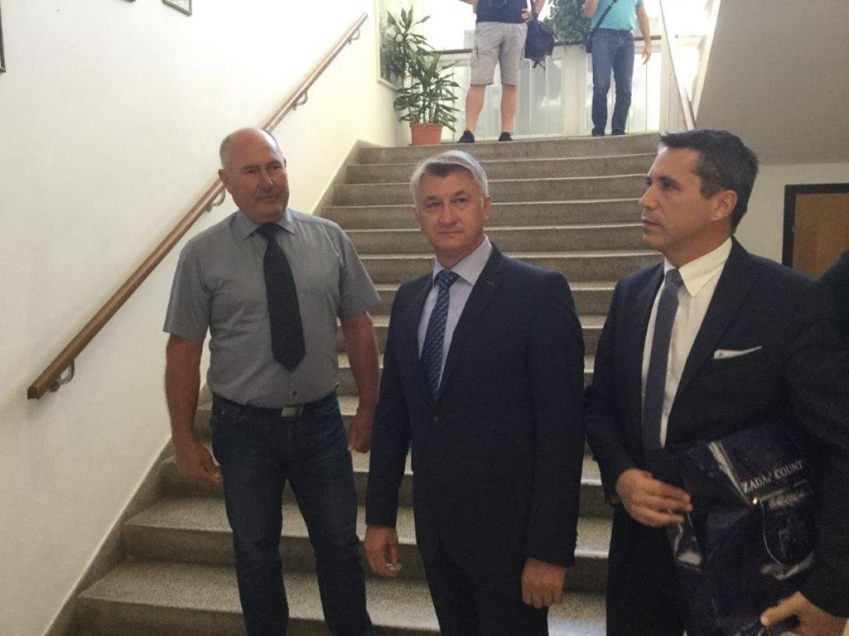 """Župan Longin u Medicinskoj školi """"Ante Kuzmanića"""""""