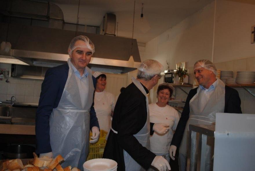 U Pučkoj kuhinji zadarskog  Caritasa obilježen je Dan volontera