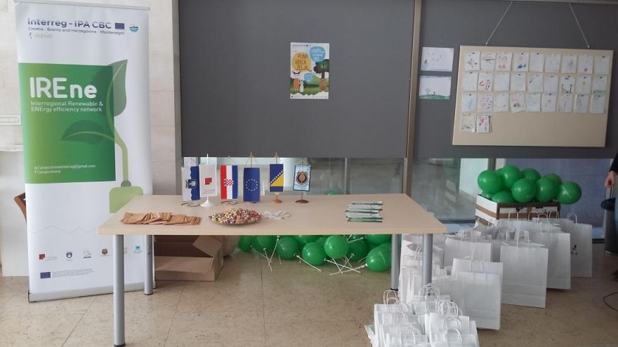 Projekt IRENE-održana predstava za djecu
