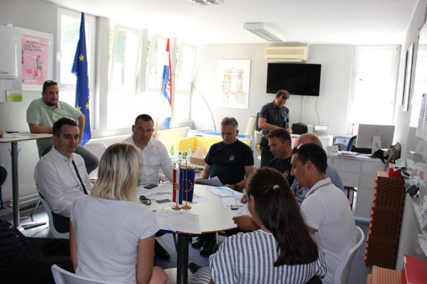 Održan Work Café na temu zaštite i spašavanja u slučaju potresa i požara u sklopu projekta READINESS