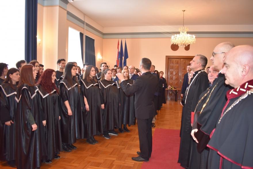Svečanom sjednicom obilježen Dan sveučilišta u Zadru