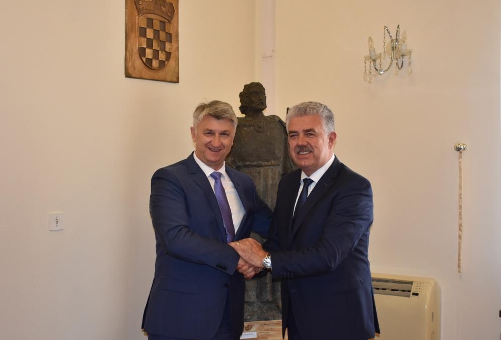 Župan Longin primio izaslanstvo Hercegovačko-neretvanske županije