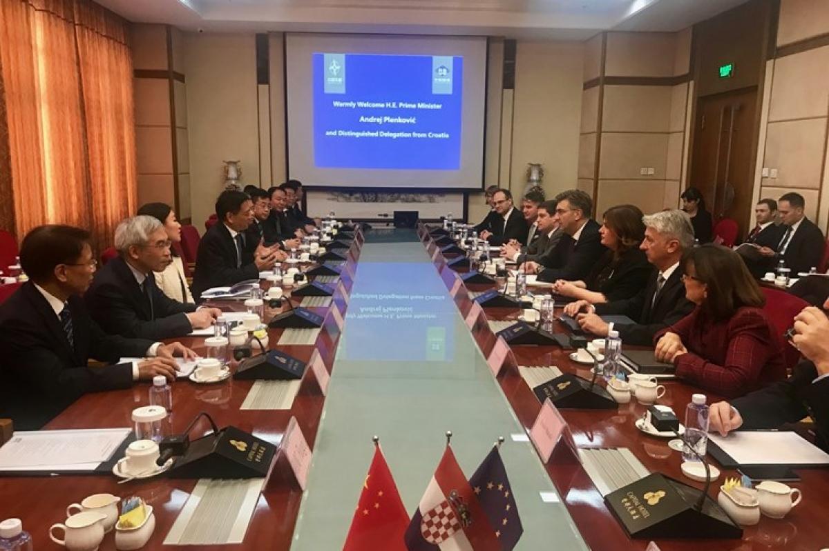 Župan Longin u radnom posjetu Kini u izaslanstvu predsjednika Vlade Plenkovića