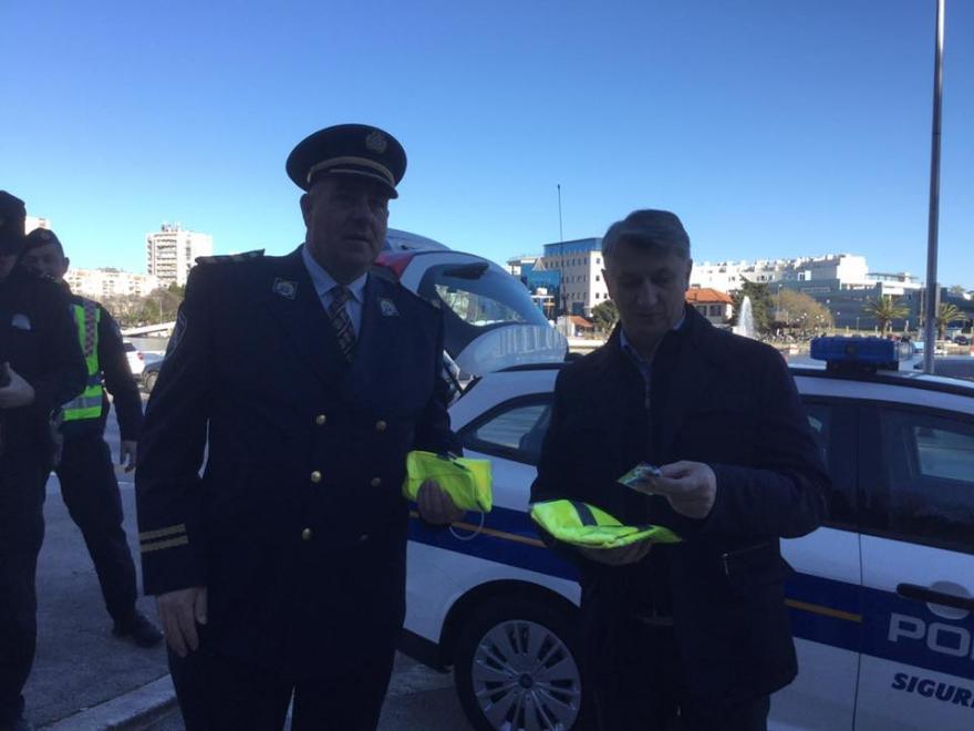 Župan Longin sudjelovao u akciji Zajedno za sigurniji promet