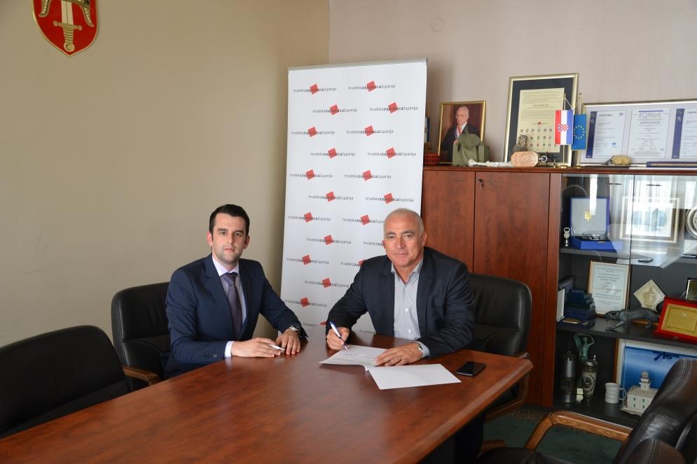 Potpisan ugovor o suradnji s predstavnicima županijskih savjeta mladih