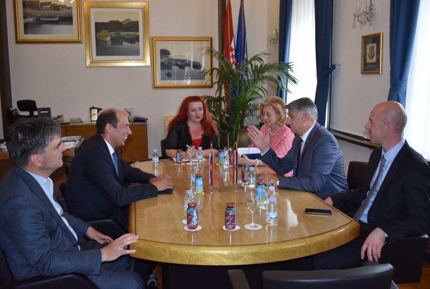 Župan Longin ugostio veleposlanika Priputena: Slovaci investirali 120 milijuna eura u Zadarsku županiju