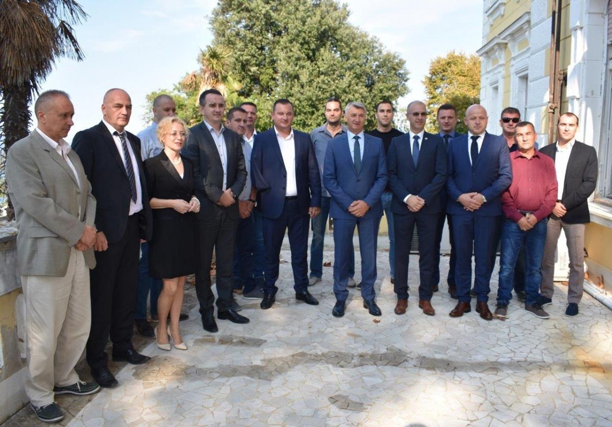 Prijem u Domu županije za nagrađene policajce: Sigurnost je postala naš brend
