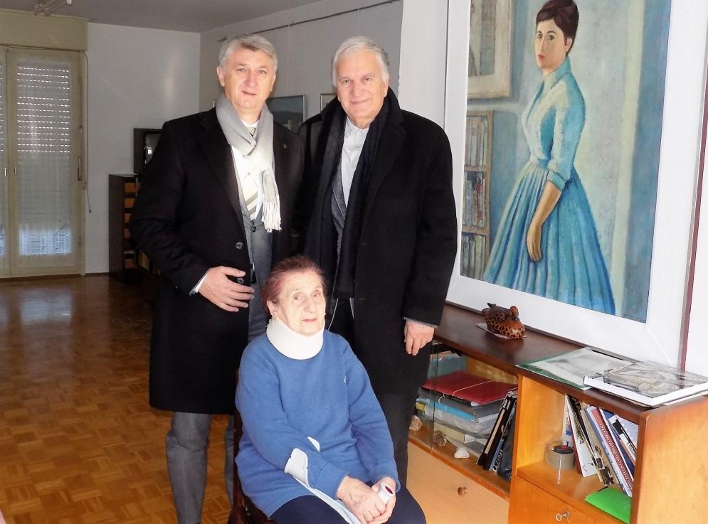 Župan Longin posjetio donatoricu Narodnog muzeja Anitu Tomljanović Šokčević