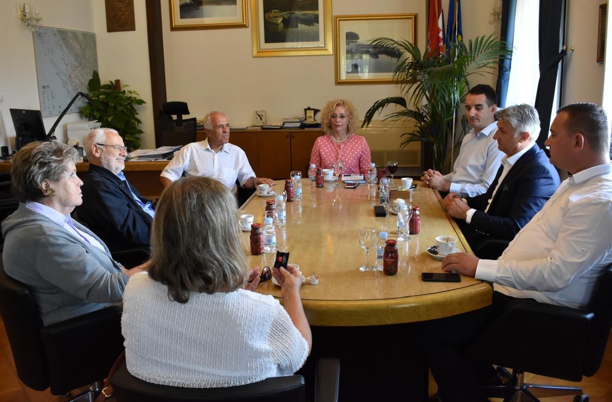 Župan Longin ugostio bivšeg austrijskog vicekancelara Buseka