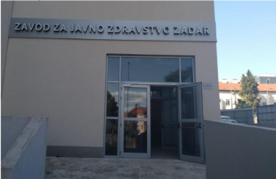 Preseljenje Zavoda za javno zdravstvo Zadar - obavijest o pružanju usluga na novoj adresi