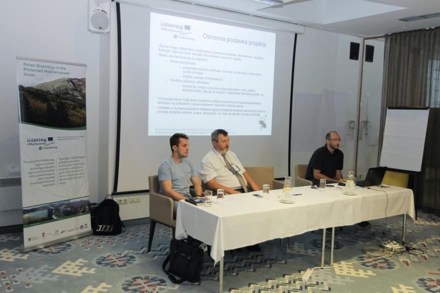 Održan treći tehnički panel (druga tematska radionica) u sklopu projekta Forest Bioenergy in the Protected Mediterranean Areas – ForBioEnergy