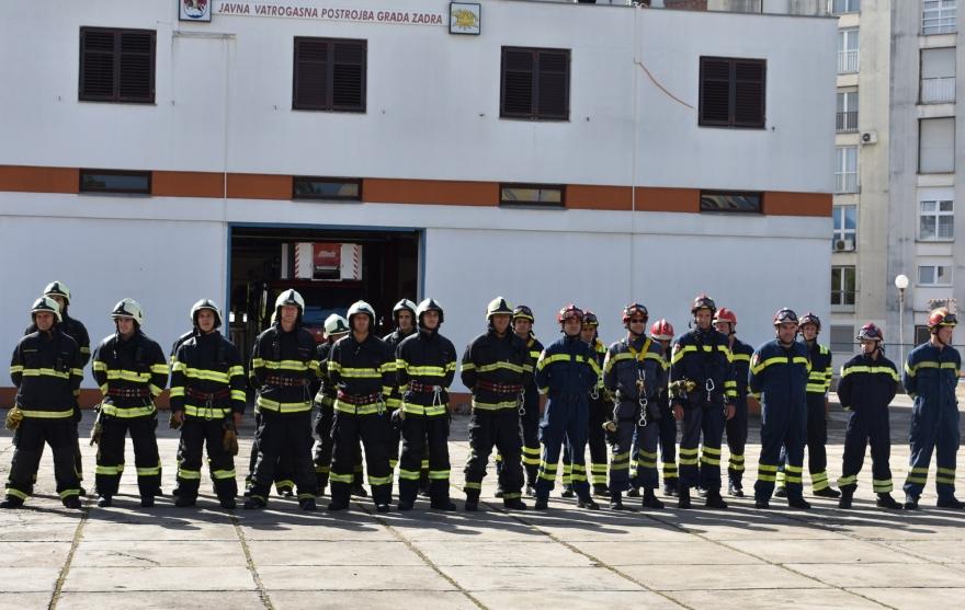 Zadarski vatrogasci obilježili dan svog zaštitinika Sv. Florijana
