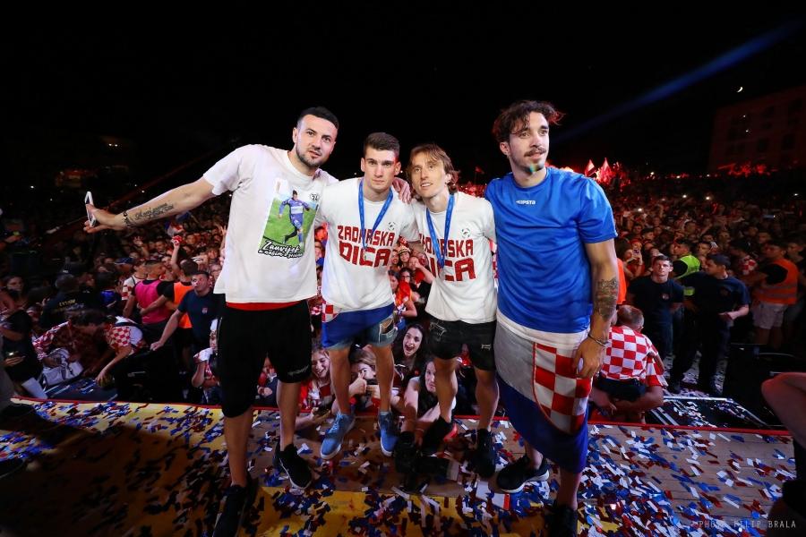 Zadar dočekao svoje reprezentativce