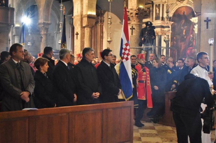 Misa za domovinu u Katedrali