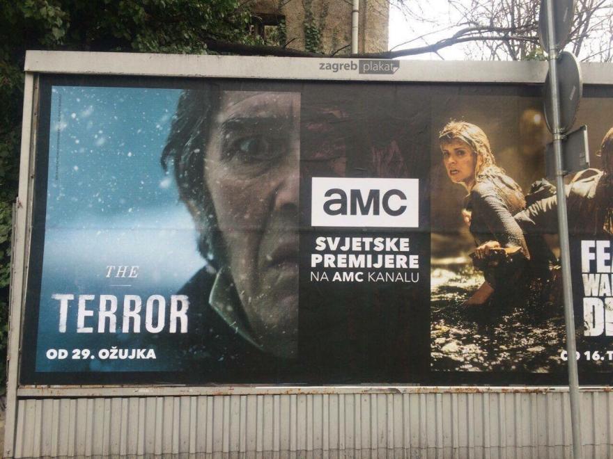 Premijera serije The Terror snimane na Pagu