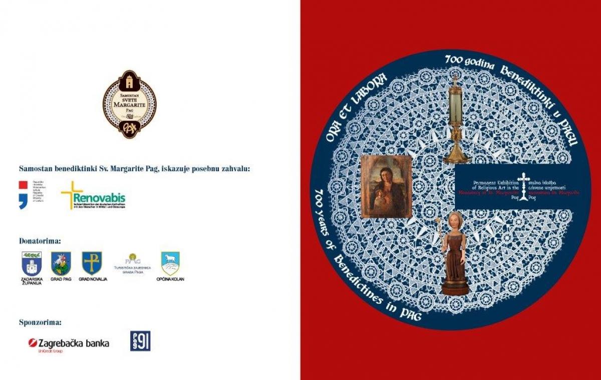 Samostan benediktinki Sv. Margarite u Pagu slavi 700. obljetnicu i tom prigodom otvara Stalnu izložbu crkvene umjetnosti.