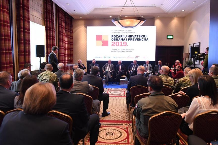 Župan Longin na konferenciji o požarima u Hrvatskoj