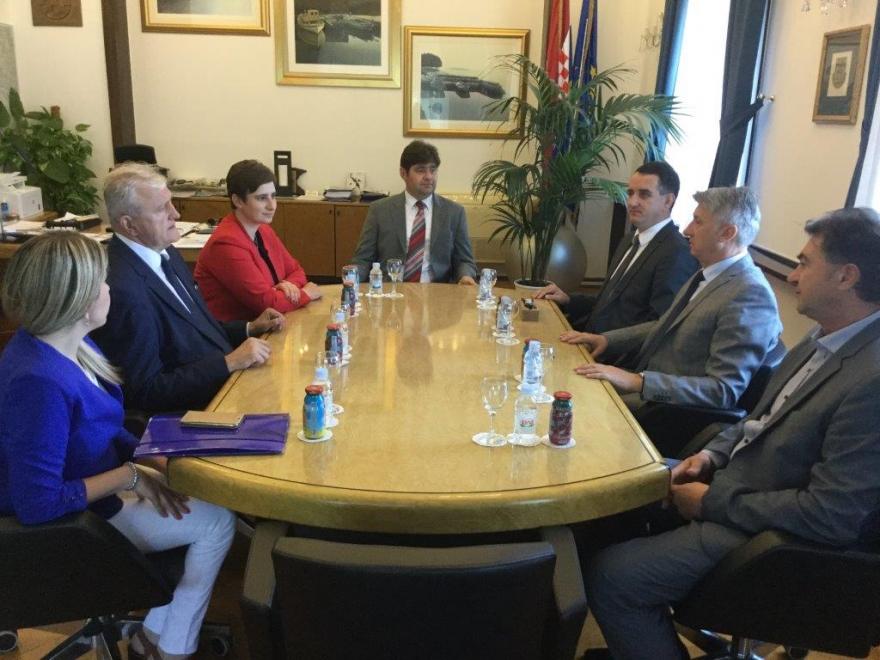 Župan Božo Galić u radnoj posjeti Zadarskoj županiji