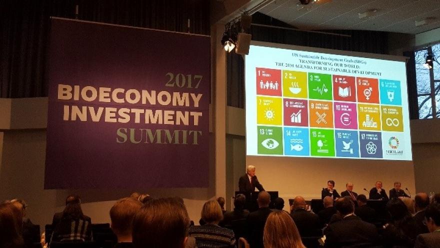 Sudjelovanje na 2017 Bioeconomy Investment Summit – Helsinki, Finska