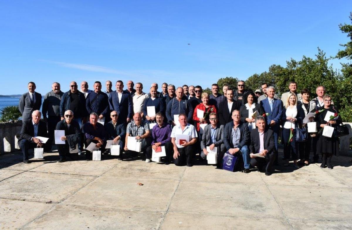 Svečani prijem za 41 darivatelja krvi u Zadarskoj županiji
