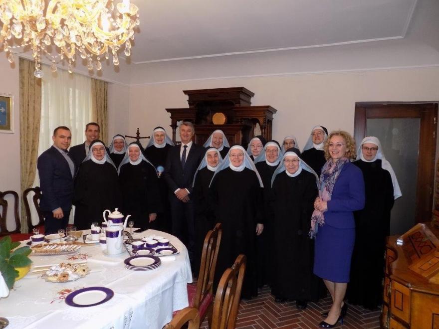 Župan posjetio zadarske benediktinke