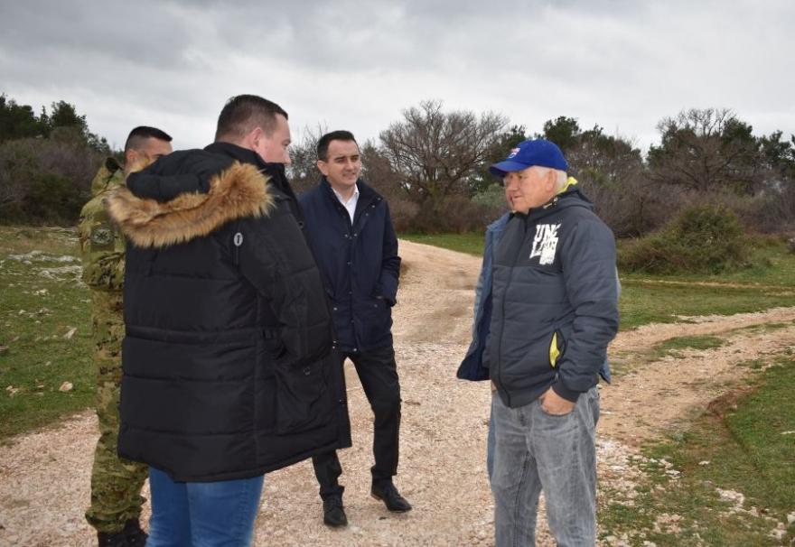 Zamjenici župana u nadzoru radova sanacije nerazvrstanih cesta