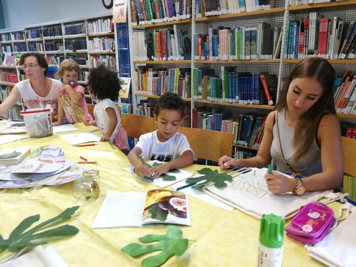 Održana dječja radionica u sklopu Festivala smokava