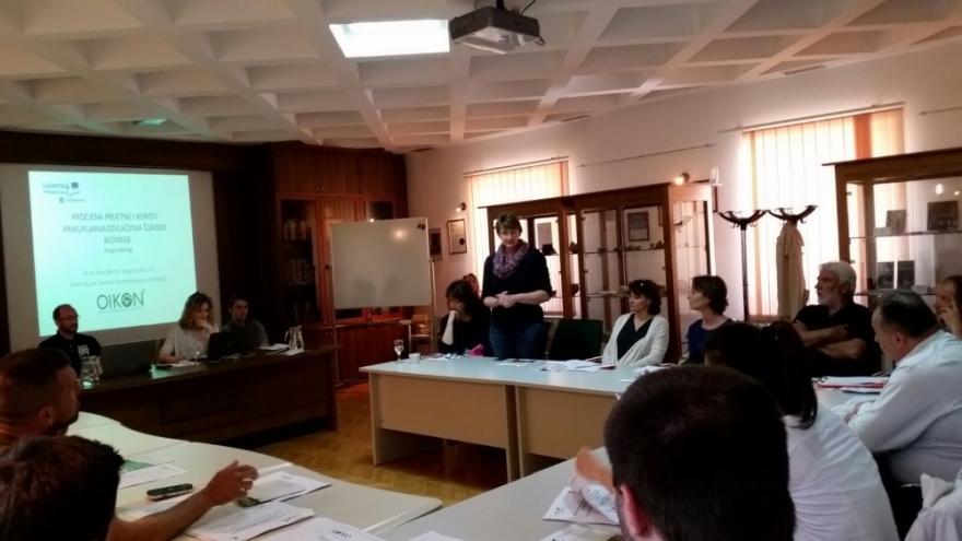 Drugi trening za prenošenje znanja i vještina u sklopu projekta Forest Bioenergy in the Protected Mediterranean Areas – ForBioEnergy
