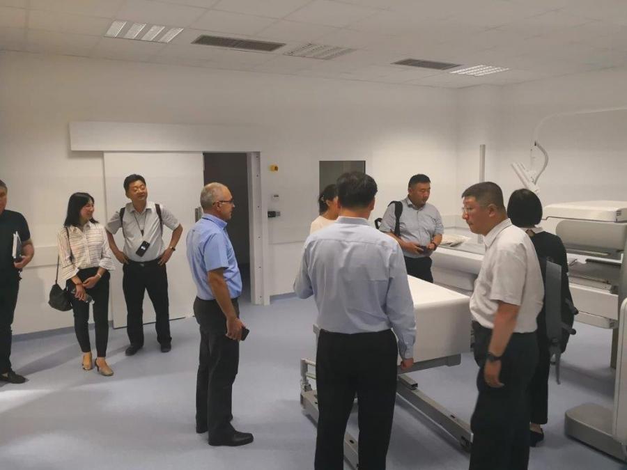 Izaslanstvo kineske organizacije iz Šangaja  New Area Health and Family Planning Commission posjetilo OB Zadar