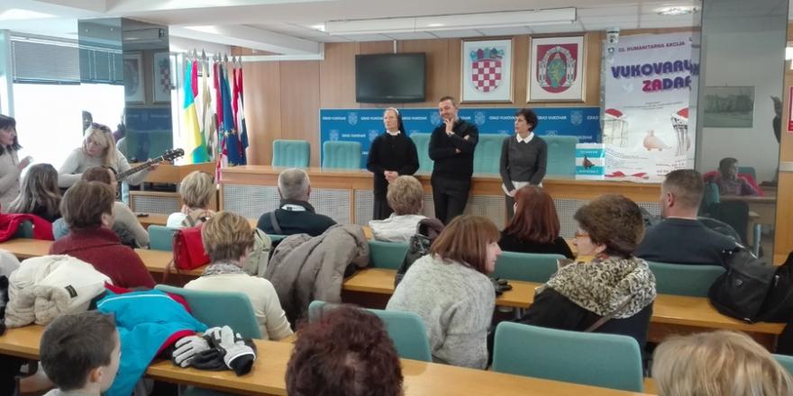 """Vukovar posjetili sudionici 22. humanitarne akcije """"Vukovaru ZaDar"""""""