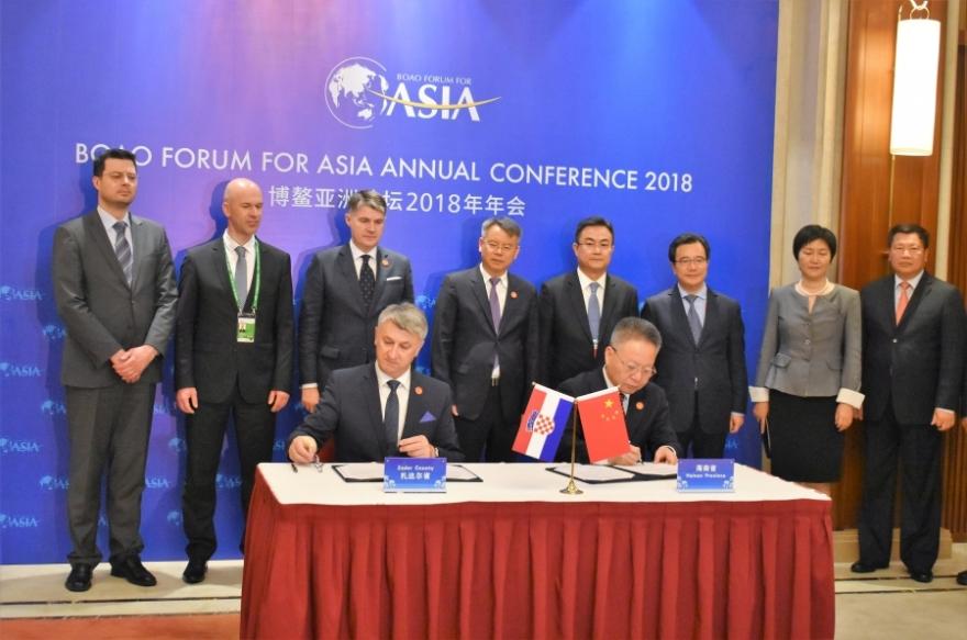 Potpisana suradnja Zadarske županije s kineskom regijom Hainan