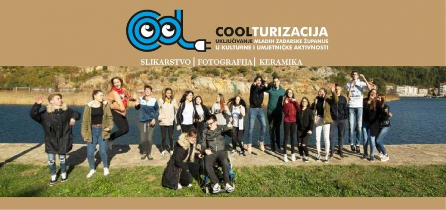 COOLturizacija - Izložba umjetničkih djela učenika Srednje škole Obrovac