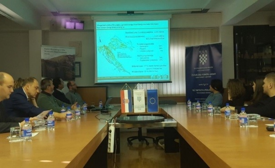 Prvi trening za prenošenje znanja i vještina u sklopu projekta Forest Bioenergy in the Protected Mediterranean Areas – ForBioEnergy
