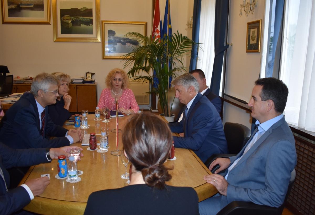 Novi veleposlanik Turske u nastupnom posjetu Zadarskoj županiji