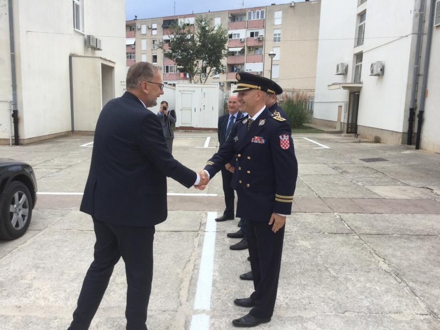 Potpisan Sporazum o sufinanciranju uređivanja prostora zadarske policije